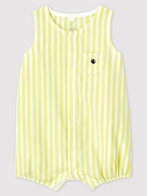 PETIT BATEAU Yellow Playsuit