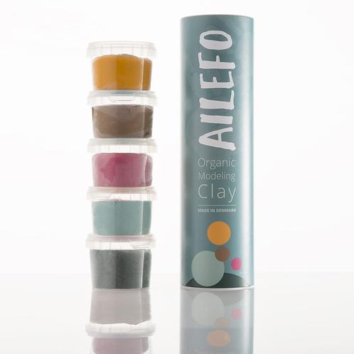 AILEFO Organic Modeling Clay - Small Tube