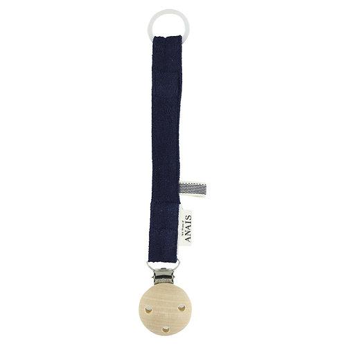 REVES D'ANAIS Pacifier Clip - Blue