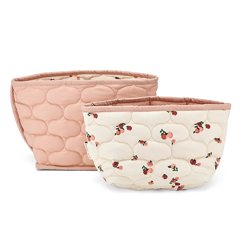 AVERY ROW Quilted Storage Baskets