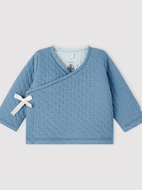 PETIT BATEAU Babies' Tube Knit Cardigan