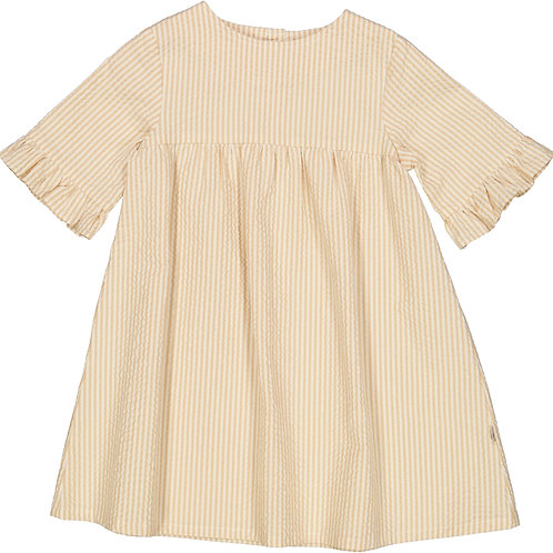 WHEAT Dress Elena Taffy Stripe