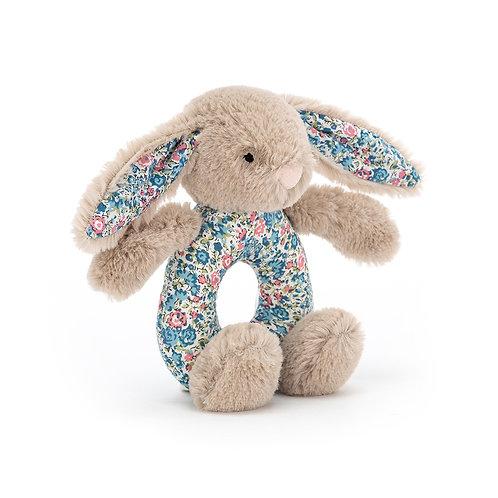 JELLYCAT Blossom Beige Bunny Grabber