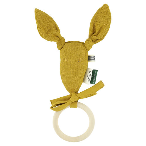 TRIXIE Kangaroo Teether (Mustard)