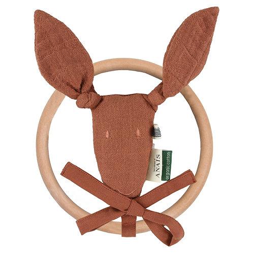 TRIXIE Kangaroo Rattle (Rust)
