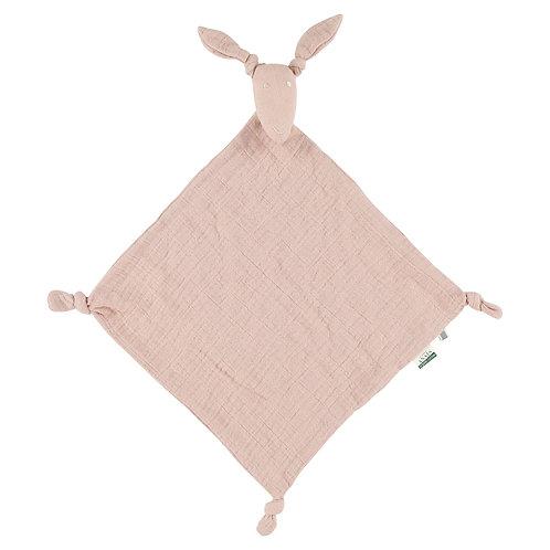 REVES D'ANAIS Kangaroo Muslin Cloth - Rose