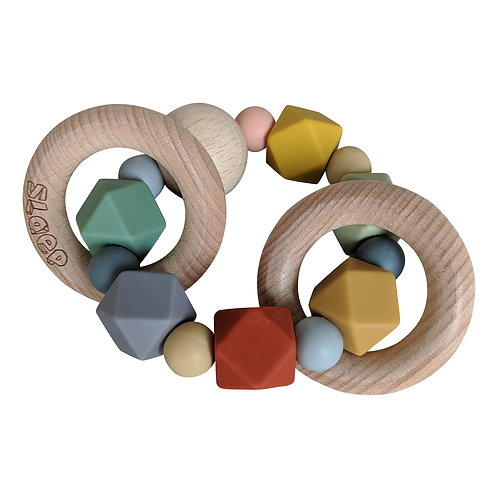 PLAY AT SLAEP Rattle/Teether #2