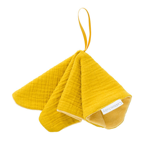 COTTONBABY Pacifier Cloth Mustard