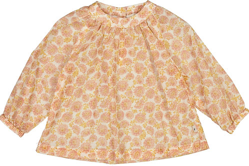 WHEAT Blouse Addie Rose Flowers Baby