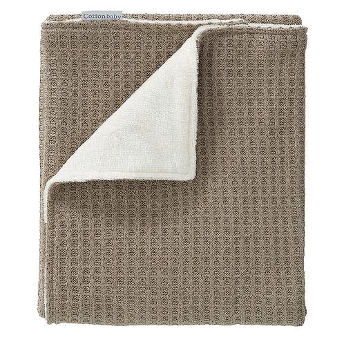 COTTONBABY Blanket Taupe Velvet