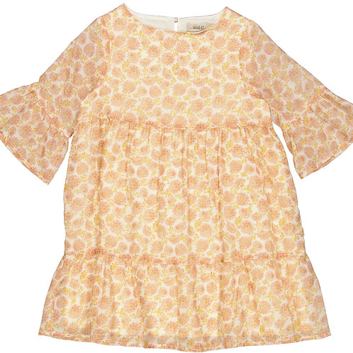 WHEAT Dress Dea Rose Flowers