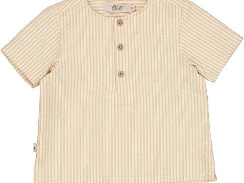 WHEAT Shirt Mio Taffy Stripe