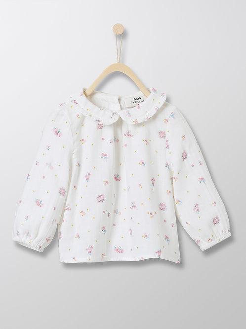CYRILLUS Baby's Double Gauze Cotton Shirt