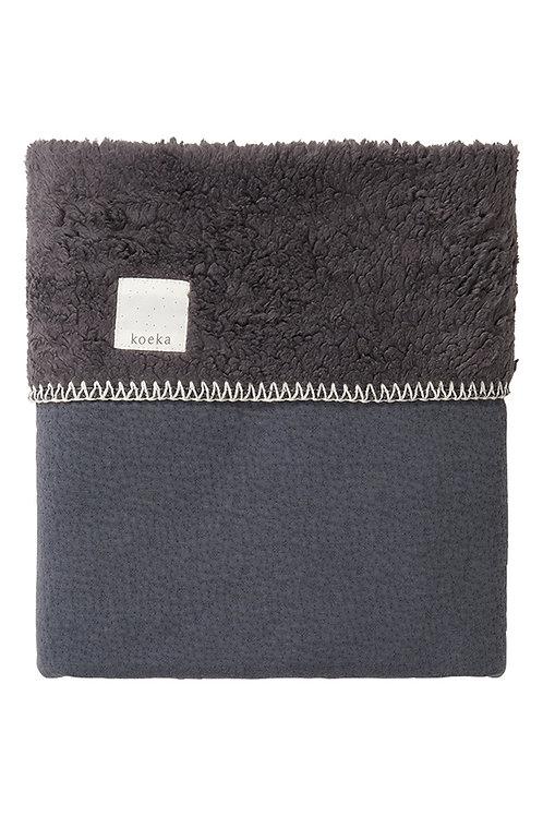 KOEKA Bassinet Blanket Runa - Grey
