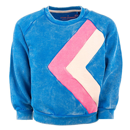 STONES AND BONES Sweater Odessa (Azure)