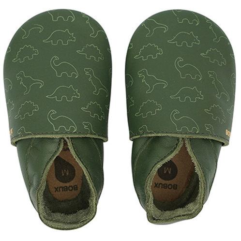 BOBUX Simple Shoe (Dino Olive)