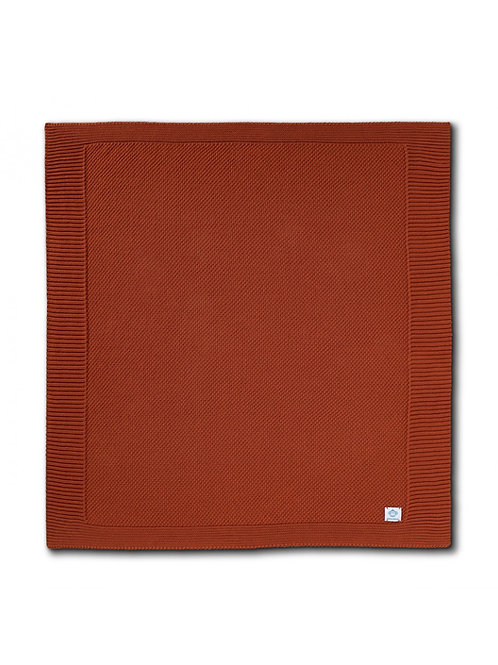 MM Baby Blanket - Rust