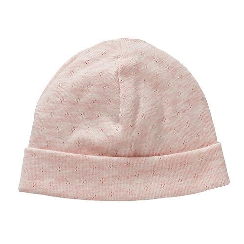 COTTONBABY Newborn Beanie & Mittens Set Pink