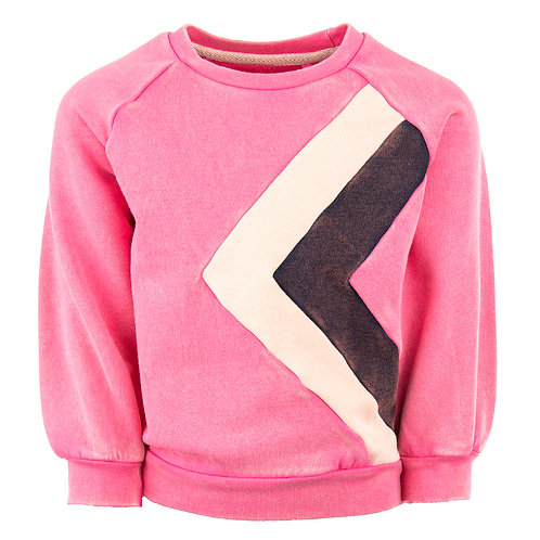STONES AND BONES Sweater Odessa (Fuchsia)