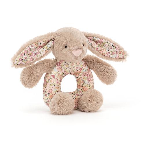 JELLYCAT Blossom Bea Beige Bunny Grabber