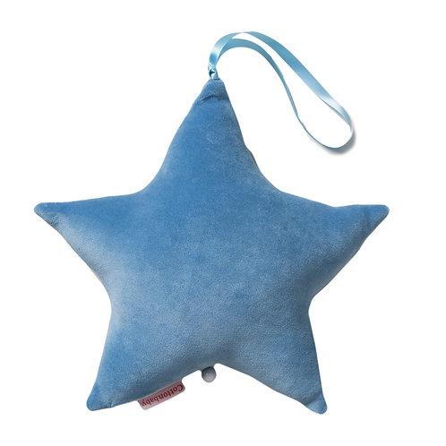 COTTONBABY Star Music Box Blue