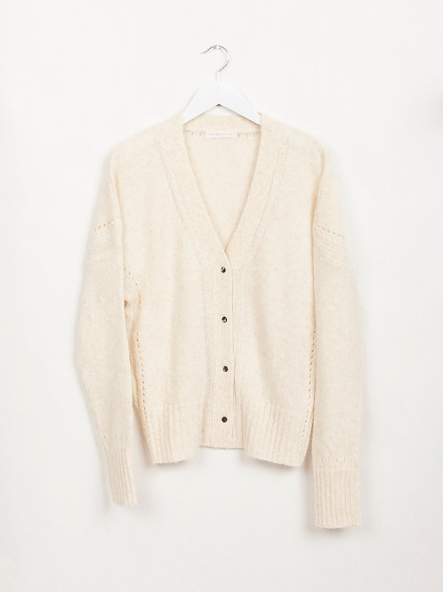 LVF Povraie Off-White Cardigan