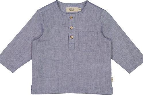 WHEAT Shirt Bjork Blue