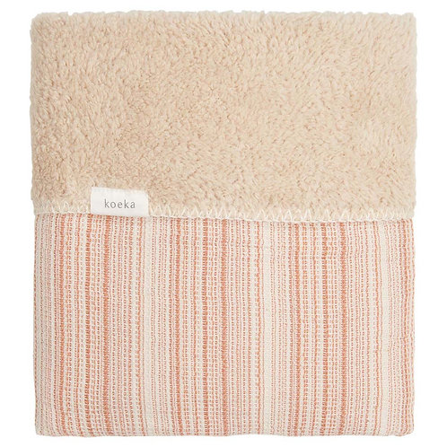 KOEKA Cot Blanket Teddy - Bronze