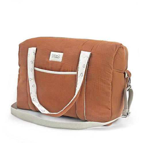 BABYSHOWER Maternity Bag Caramel