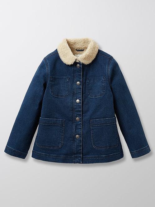 CYRILLUS Sherpa Lined Denim Jacket