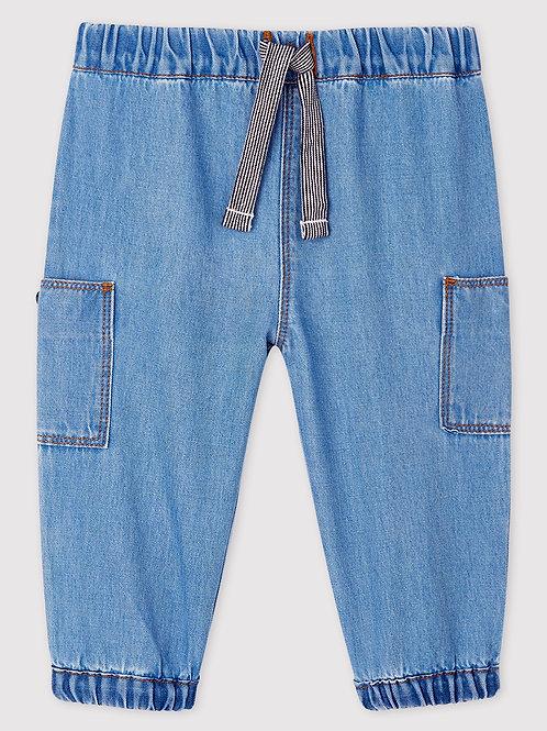 PETIT BATEAU Light Denim Trousers