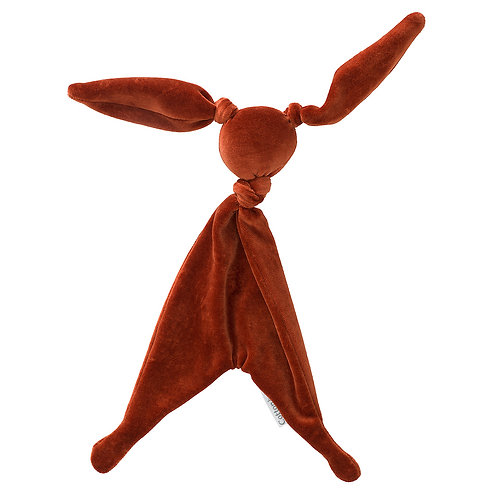 COTTONBABY Cuddle Toy Velvet Rust