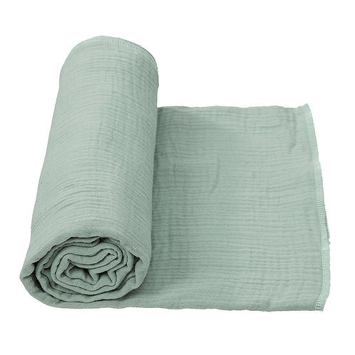 COTTONBABY Swaddle Soft Green (2 sizes)