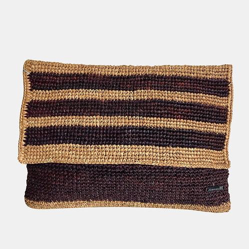 CLUTCH Striped Blackcurrant