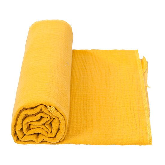 COTTONBABY Swaddle Soft Mustard (2 sizes)