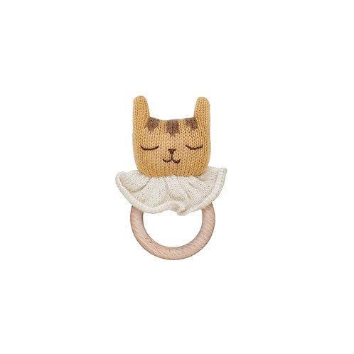 MAIN SAUVAGE Teething Ring - Tiger