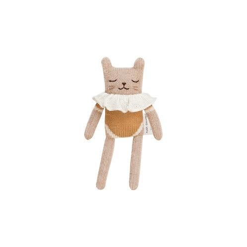 MAIN SAUVAGE Kitten Knit Toy - Ochre