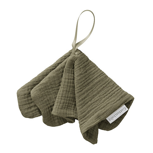 COTTONBABY Pacifier Cloth Kaki Green