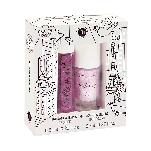 NAILMATIC Coffret Duo Rollette + Vernis - Lovely City