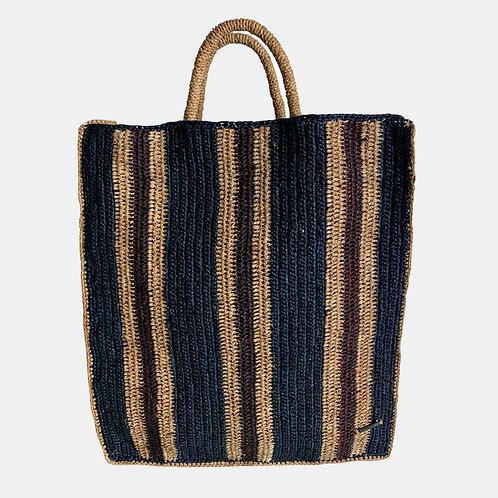 BAG Striped Blackcurrant