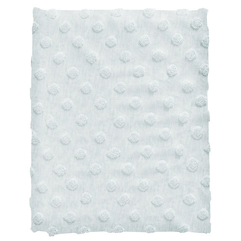 COTTONBABY Blanket Dot Light Blue