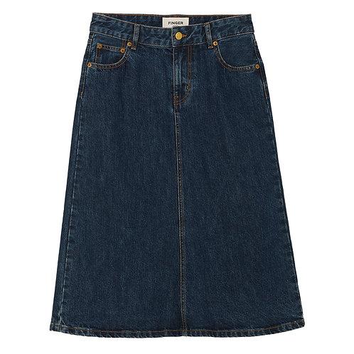 FINGER IN THE NOSE Odessa Denim Skirt