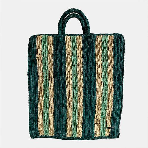 BAG Striped Emerald