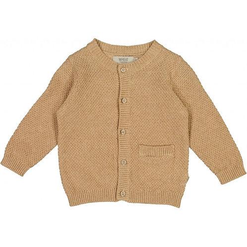 WHEAT Knit Cardigan Ray (Sand)