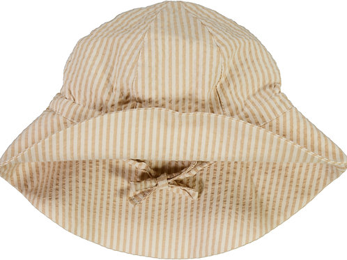 WHEAT Baby Girl Sun Hat Taffy Stripe