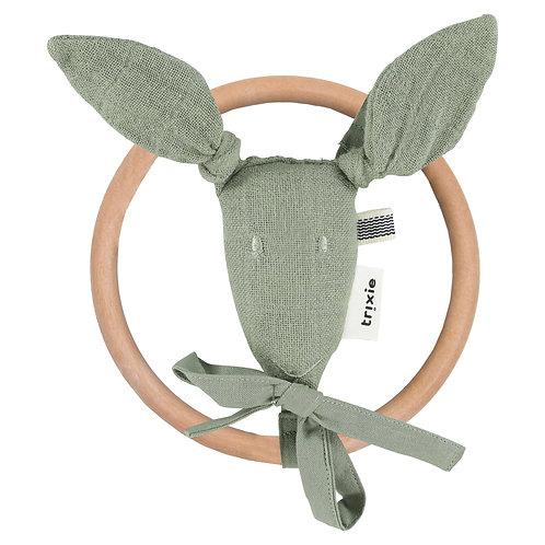 TRIXIE Kangaroo Rattle (Olive)