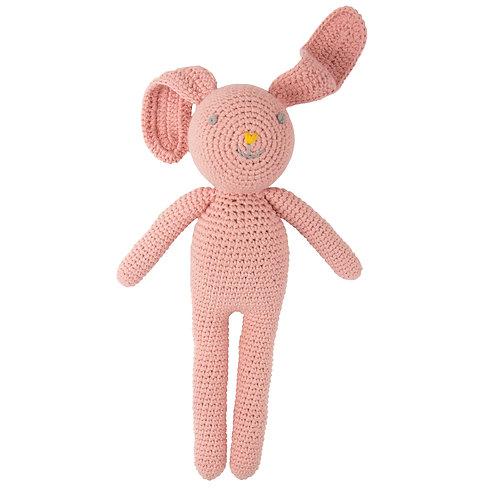 GLOBAL AFFAIRS Crochet Bunny Hazel