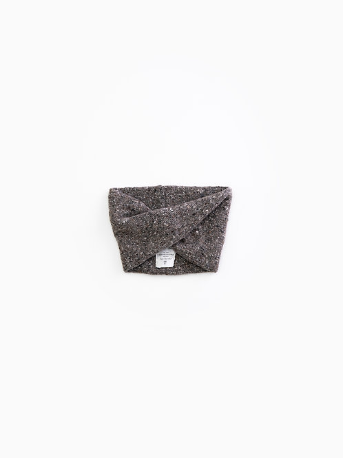 PLAY UP Knitted Collar - Walnut