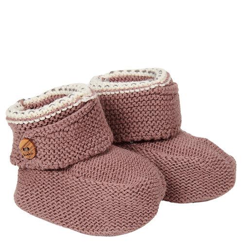 KOEKA Baby Slippers - Plum