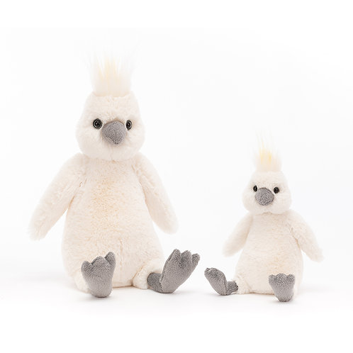 JELLYCAT Bashful Cockatoo